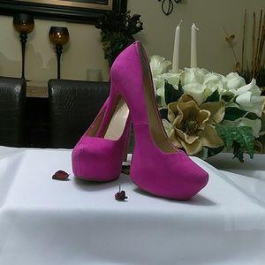 Jessica Simpson ladies pink platform